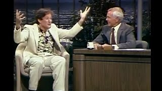 Robin Williams Carson Tonight Show 22/7-1982