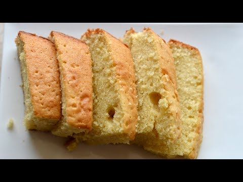 Classic Vanilla Cake Recipe | Moist Vanilla Cake Recipe | Vanilla Butter Cake Recipe