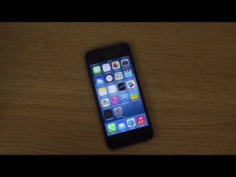 iPhone 5S iOS 8 - Camera Control Exposure Settings Review