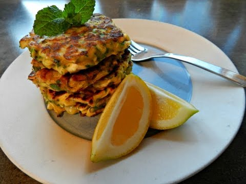 How to make Zucchini and Feta Fritters