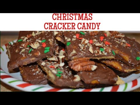 Christmas Cracker Candy (Vegan/Vegetarian)