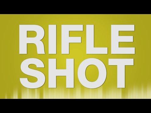 Rifle Shot - SOUND EFFECT - Sniper Single Shot - Gewehr Schuss Soundeffekt barulho