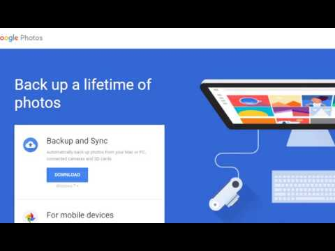 How To Set-Up  Google Backup and Sync Software To Replace Google Photos Desktop Uploader?