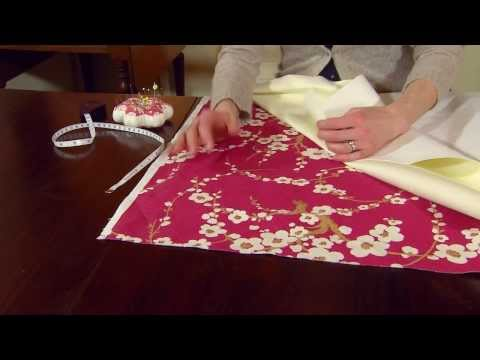 How to Make Thermally Lined Curtains - Part 4 of 5 - National Trust