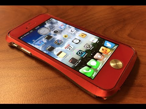 Red iPhone 5 (glass conversion)
