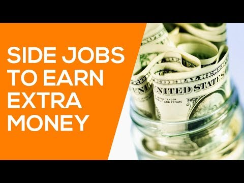 8 Side Jobs to Make Money & Side Gigs that Earn Cash (from home!)