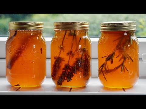 How to make Herb Infused Honey