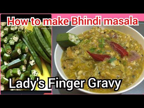 How to make Bhindi ki sabzi / how to make Bhindi masala at home / Lady's Finger recipe
