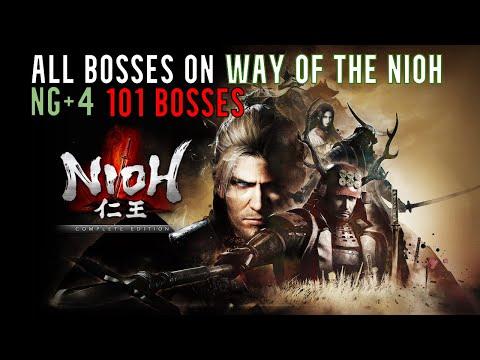 Nioh: All Bosses NG++++ (Way of the Nioh)