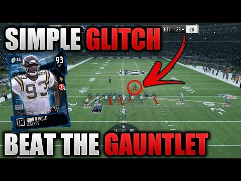 GLITCH TO BEAT GAUNTLET SOLOS | STEP BY STEP GUIDE TO THE GAUNTLET SOLOS | Madden 18 Ultimate Team
