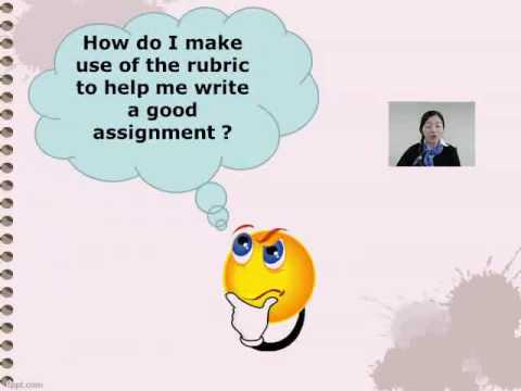 Assignment Guide - Understanding your assignment rubric (Topic 2)