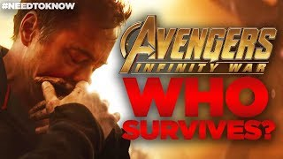 Avengers Infinity War - WHO SURVIVES? #NeedtoKnow