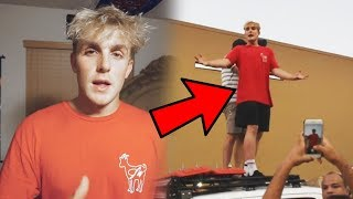 Jake Paul RAN OVER FANS At Walmart? (FOOTAGE)