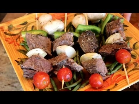 Beef Kabobs From Chuck Roast : Roast Beef Recipes