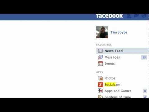 How to disable socialcam from posting on your facebook wall