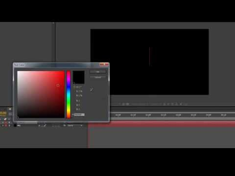 After Effects CC Zoom Tutorial