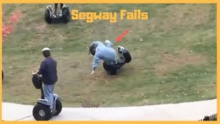 Segway Fails | Best Compilation From 2018