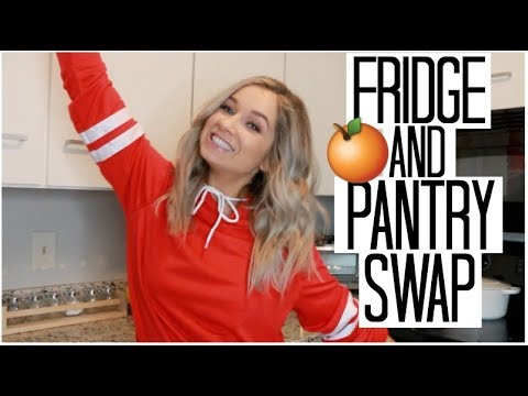 Fridge & Pantry Healthy Food SWAP | Healthy Alternatives to Unhealthy Foods to get Healthy FAST