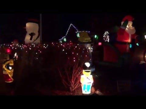 Christmas 2015 yard decorations