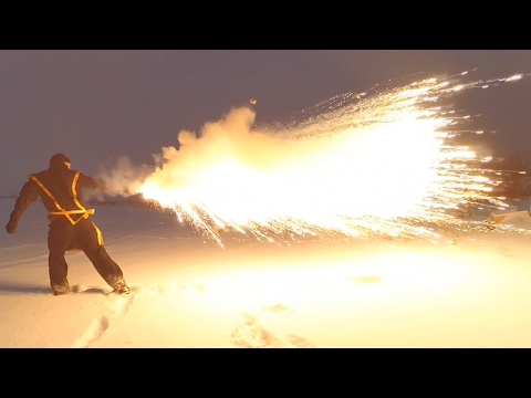 Firebreathing tool. Ninja dragon's breath!