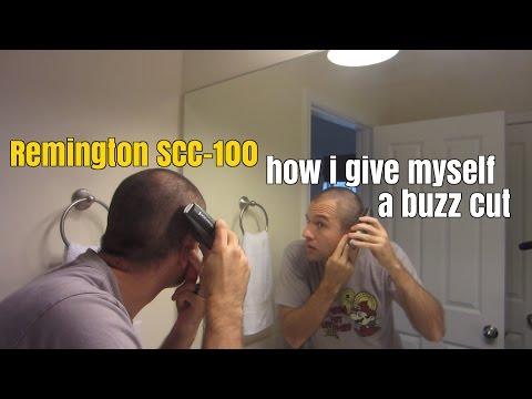 Remington SCC-100: How I Give Myself a Buzz Cut (Tutorial)