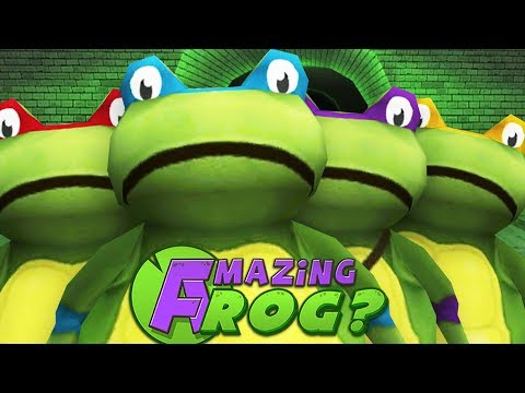 TEENAGE MUTANT NINJA...FROGS? - Amazing Frog - Part 104 | Pungence