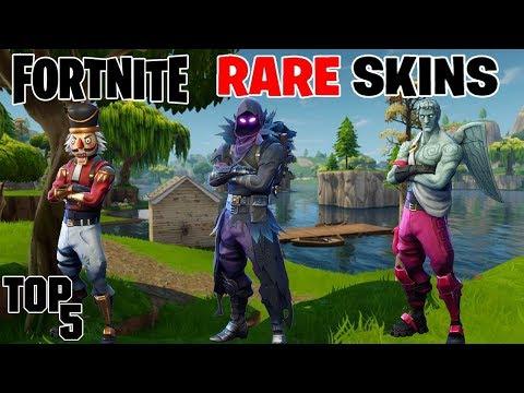 Top 5 Rarest Fortnite Skins