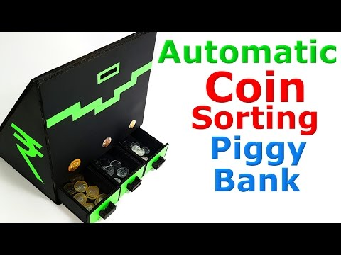 How to make Coin Sorting Piggy Bank