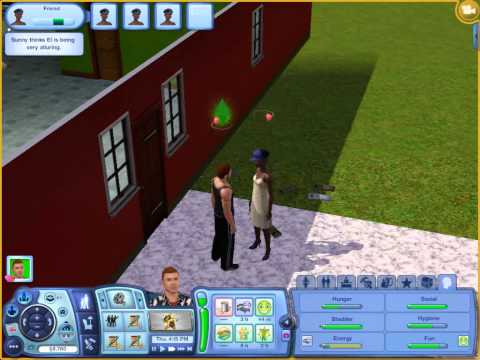 Sims 3: How to get a girlfriend