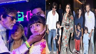 Bollywood Celebs Attend Aaradhya Bachchan's Birthday Party With Their Kids