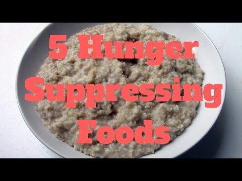 5 Hunger Suppressing Foods