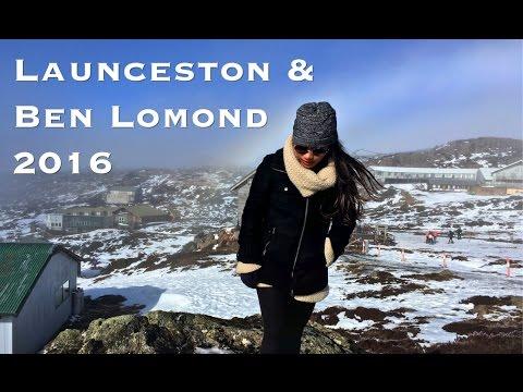 Timelapses Around LAUNCESTON Seaport & Snow at BEN LOMOND Nat'l Park