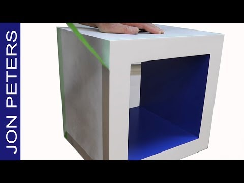Make this Cool Modern Cocktail Table with Aluminum Sheet Metal Free Plans