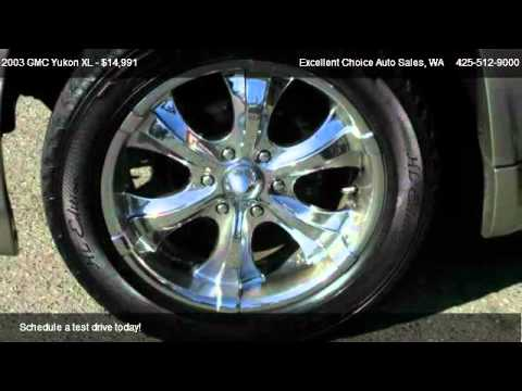 2003 GMC Yukon XL XL - for sale in Everett, WA 98204