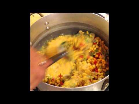 Tasting More-ish - Corn Pie Trini Trinidad Caribbean Cooking