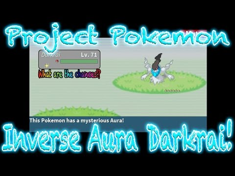 Roblox Project Pokemon - Inverse Aura Darkrai!