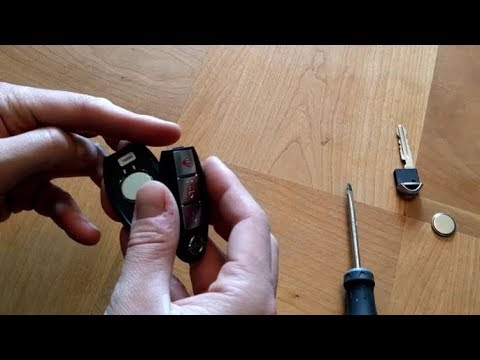 Changing a Nissan Rogue Key Fob Battery
