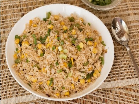 Schezwan Sweet Corn Fried Rice/ indo-Chinese recipes