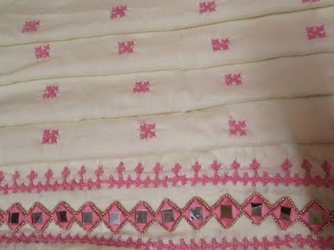 Kutch Embroidery -Square- Part 3