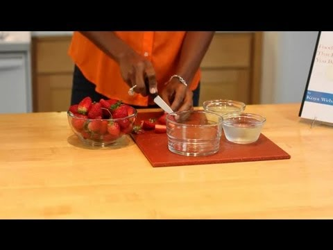 How to Dehydrate Fruit, but Keep It Chewy : Veggies & Fruit
