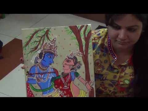 Jharokha with Madhubani Painting