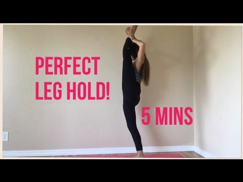 HOW to Get a PERFECT LEG HOLD in 5 MINUTES!