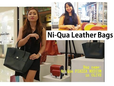 Where to buy leather bags in the Philippines: Ni-Qua