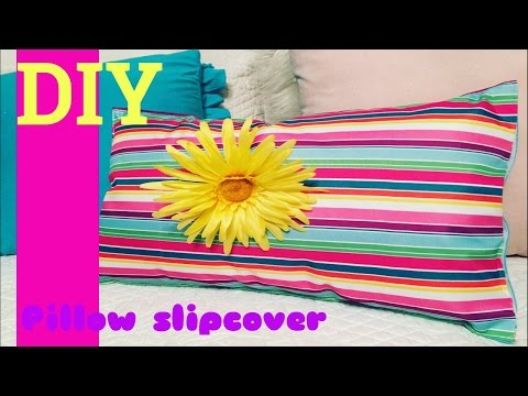Dollar tree DIY/Pillow slipcover $2