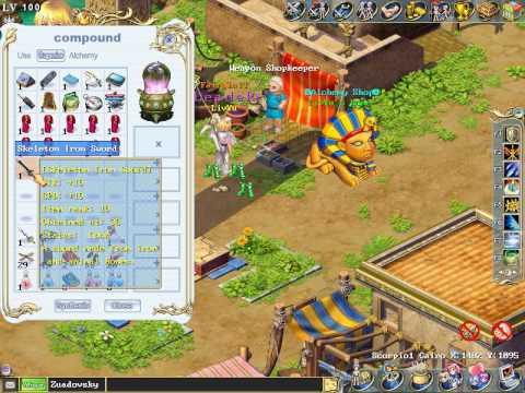 Wonderland Online Iron Trident  and Eagle Cuffs