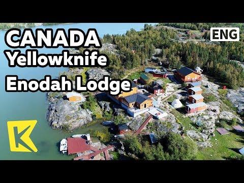 【K】Canada Travel-Yellowknife[캐나다 여행-옐로나이프]여름에 문을 여는 에노다 로지/Enodah Lodge/Summer/Wildness/Bear