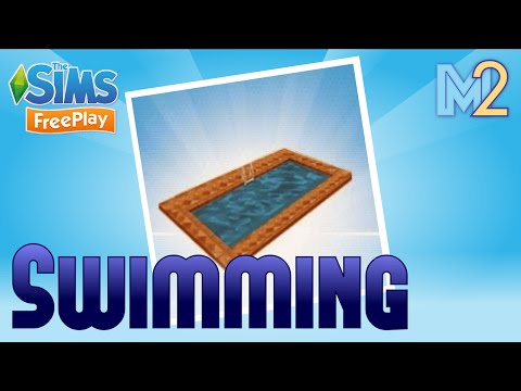 Sims FreePlay - Swimming Pool Quest with Haymitch & Cap (Let's Play Ep 10)