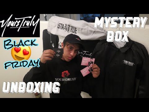 YOURS TRULY CO MYSTERY BOX UNBOXING