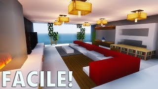 Tuto #1 comment faire un salon moderne Minecraft P.E