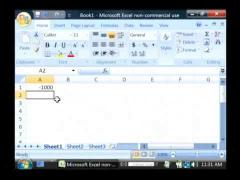 How to Calculate the Internal Rate of Return Using Excel